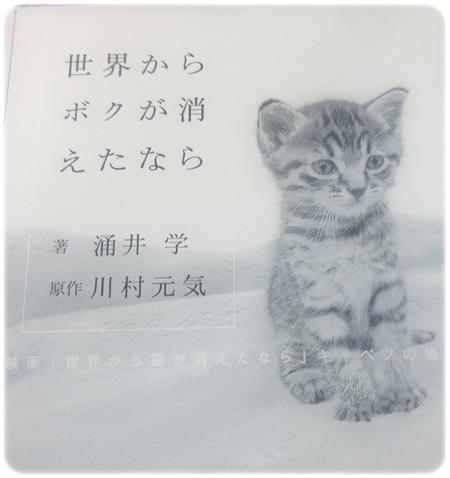 涌井学・『世界からボクが消えたなら』を読んだ感想