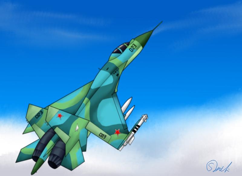 Su-27 160403