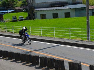 三井バイク
