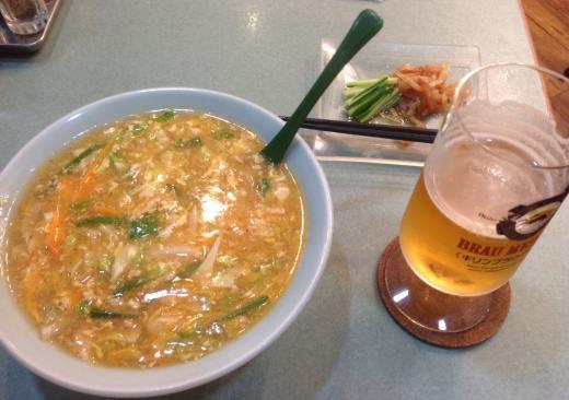 160408夕食担々麺