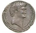 アントニーとクレオパトラ テトラドラクマ銀貨