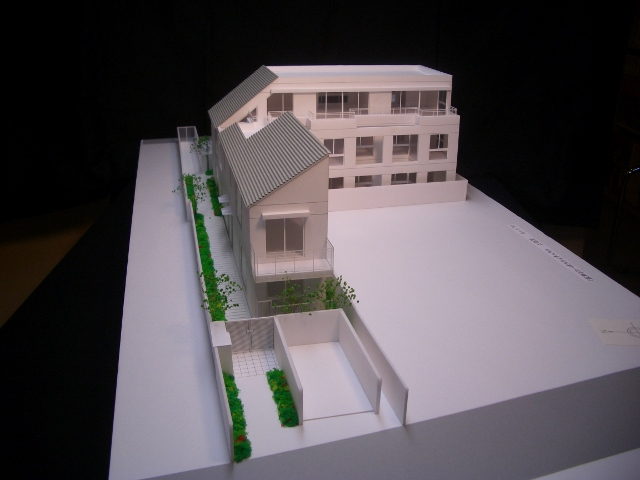 上北沢HAUS模型1