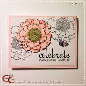 Crafty Cherry * birthday card