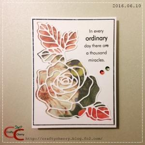 Crafty Cherry * flower 4