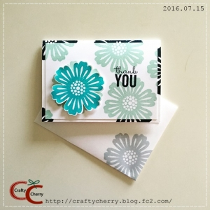 Crafty Cherry * flower thank you