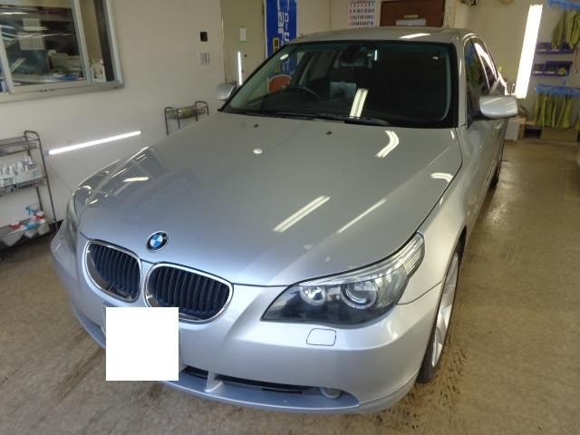 BMW530 シルバー