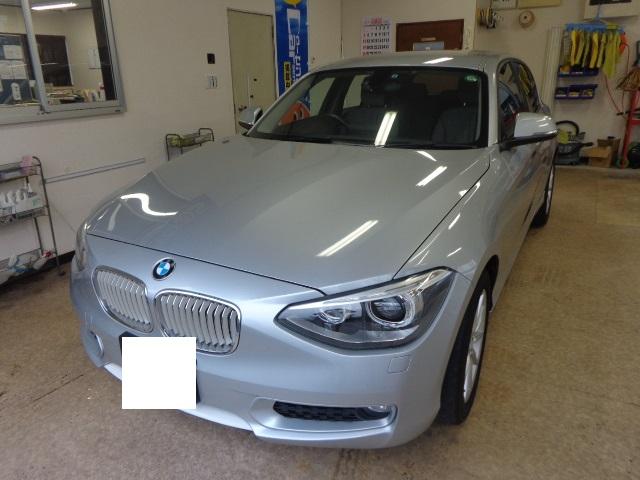 BMW116シルバー