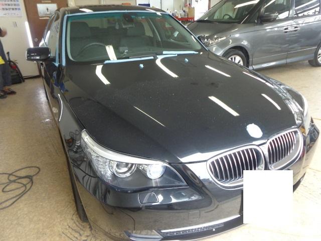 BMW525ハイライン黒