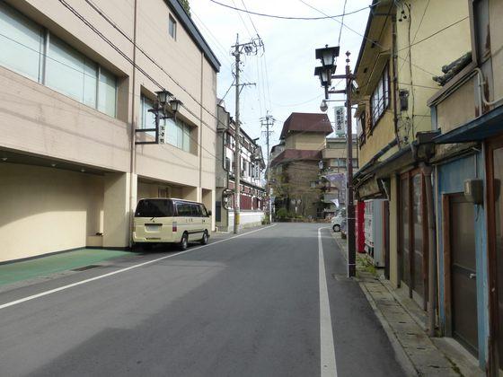 戸倉上山田温泉の街並み①