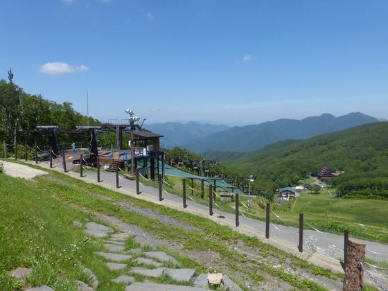 蔵王中央高原の風景