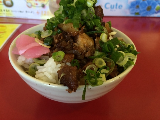 チャーシューご飯 (2)