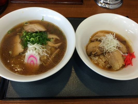 甘酢ダレチャシュ丼セット