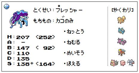 【ステ】スイクン