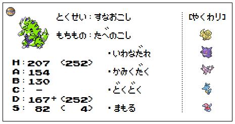 【ステ】バンギラス