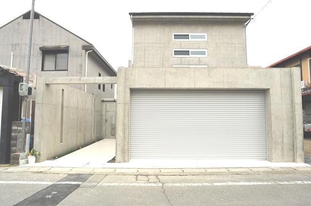 注文住宅 京都市北区 鉄筋コンクリート 打ちっぱなし1