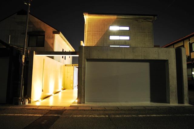 注文住宅 京都市北区 鉄筋コンクリート 打ちっぱなし注文住宅
