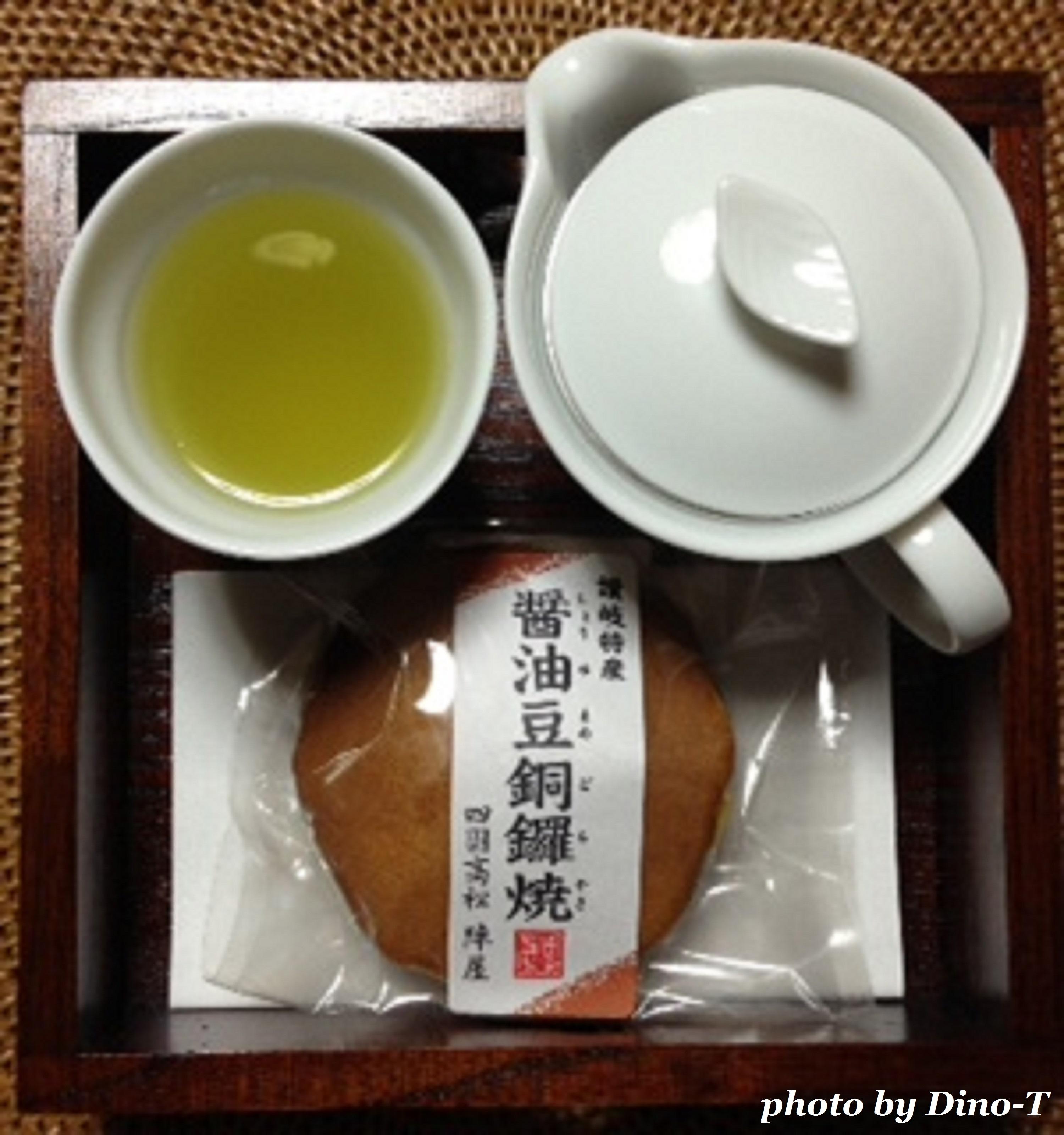 醤油豆銅鑼焼1