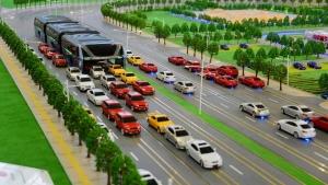 【なんだよ!】中国で発表、未来の巨大バス!
