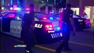 【衝撃!】ダラスで発生した銃撃事件の生々しい生々しい報道映像!