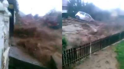 【衝撃!】中国の洪水発生を撮影した映像がスゴイ!