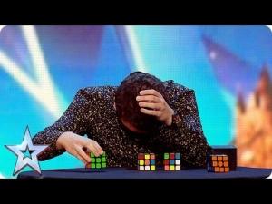 【神ワザ!】ルービックキューブの天才、「超」ではなく「神」!