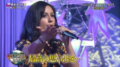 【テレビ番組】マカレナ・グアハルドの美声と可愛さがたまんないっ!