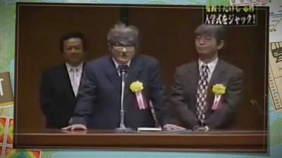 【芸能人サプライズ】たけしと志村けんの珍しいコンビが入学式を荒らす!!
