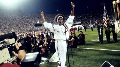 【衝撃!】1991年NFLスーパーボウルの国歌斉唱で鳥肌!ホイットニー・ヒューストン