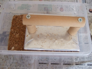 20160416パンケース菌糸詰め01