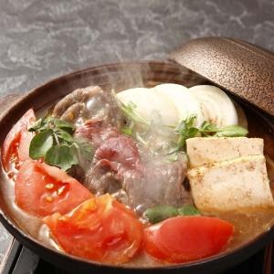 伊豆牛トマトすき煮