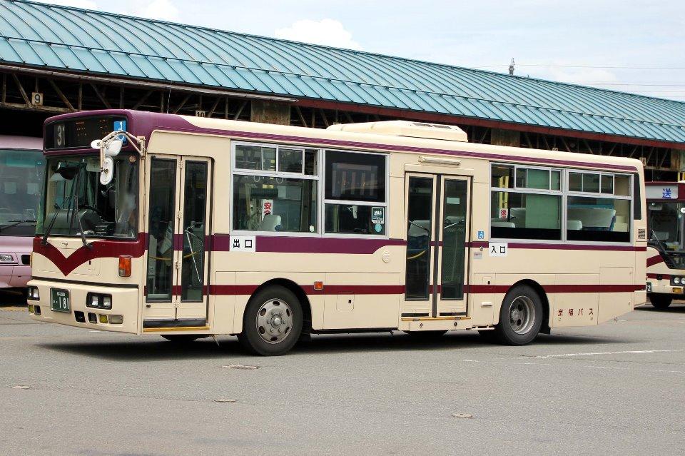 京福バス か181