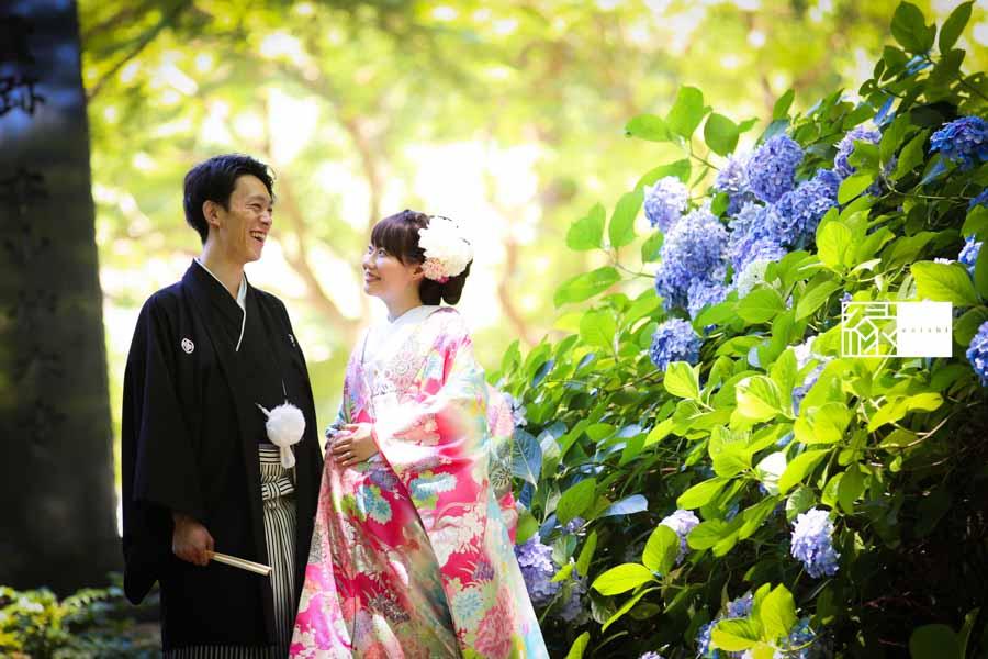 和装前撮り鎌倉縁夏08