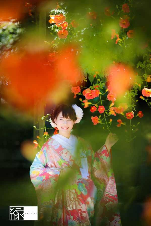 和装前撮り鎌倉縁夏04
