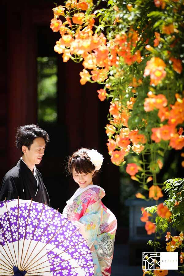 和装前撮り鎌倉縁夏14