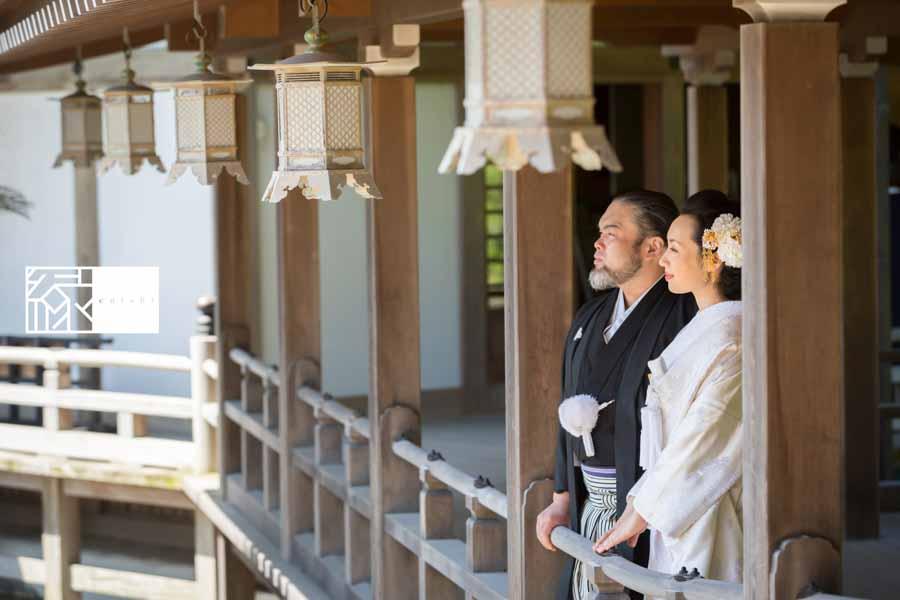 フォト婚和装鎌倉縁05