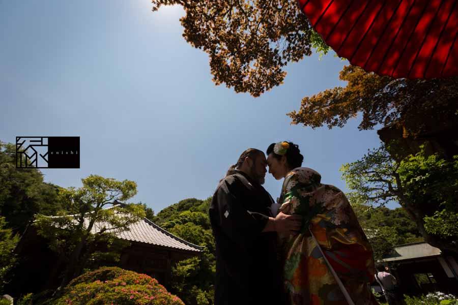 フォト婚和装鎌倉縁15