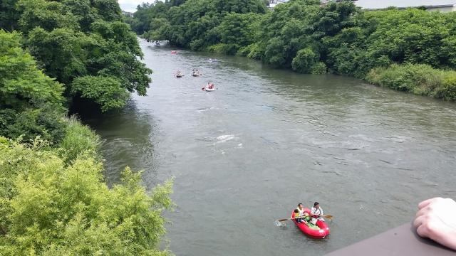7.24川下り