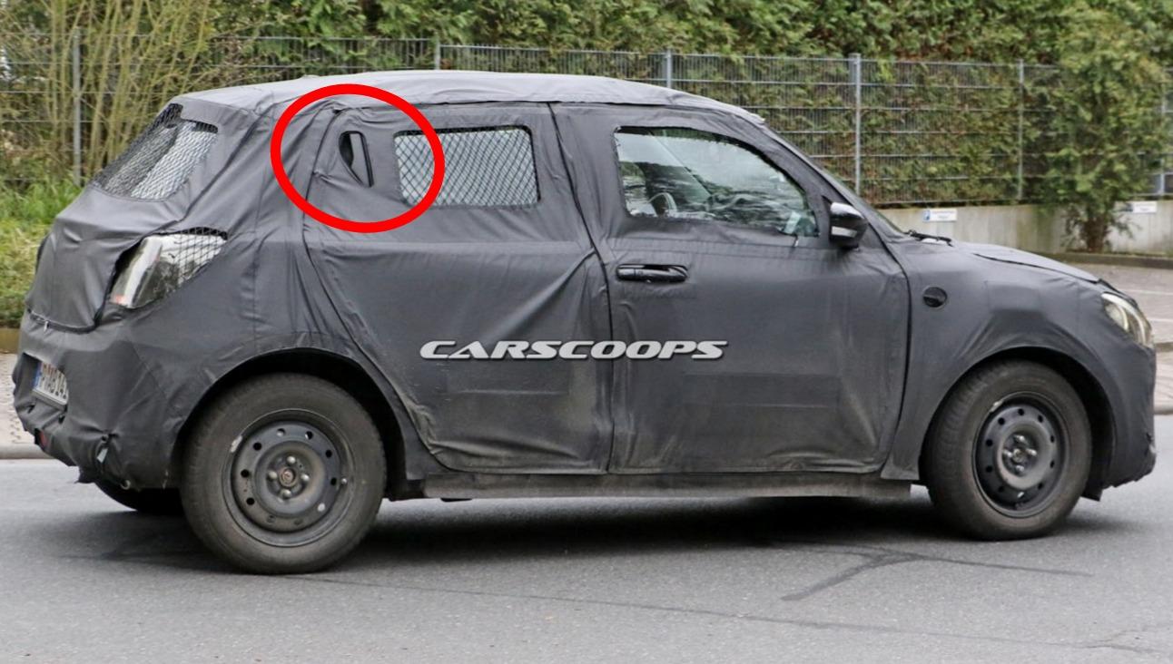 2017 Suzuki Swift Spied Testing