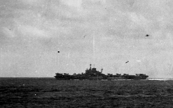 HMS Formidable on May 4