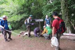 6月5日雨巻山クリーン作戦