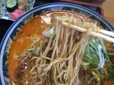 タンタン麺アップ