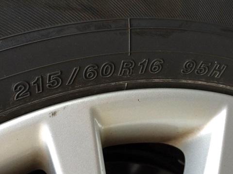 215ー60ー16ヨコハマ