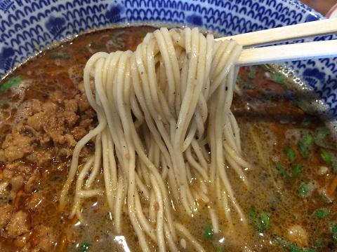 坦々麺アップ