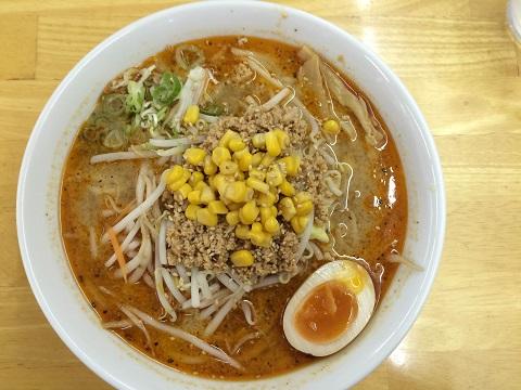 ゴマ味噌タンタン麺