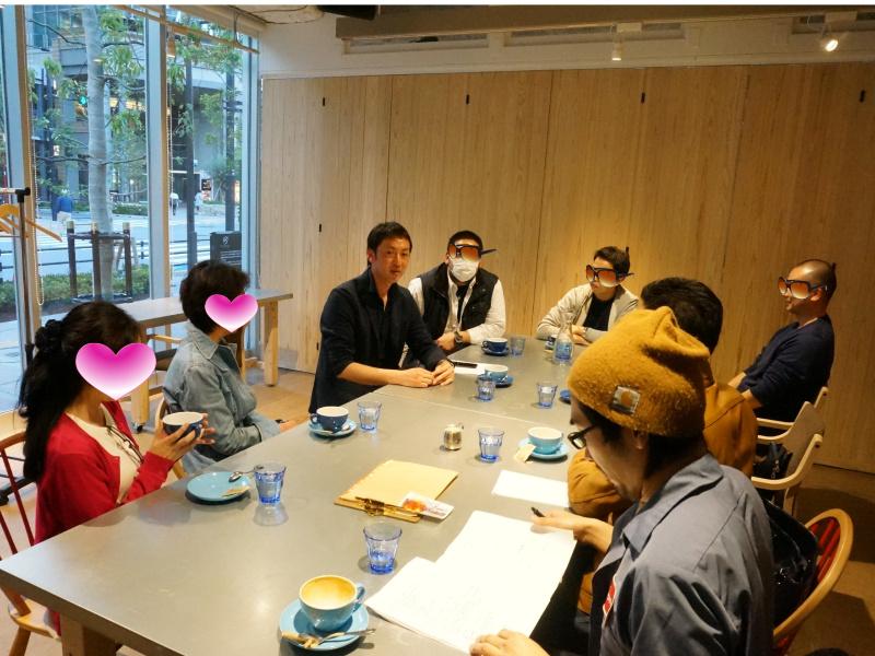 東京での座談会0410
