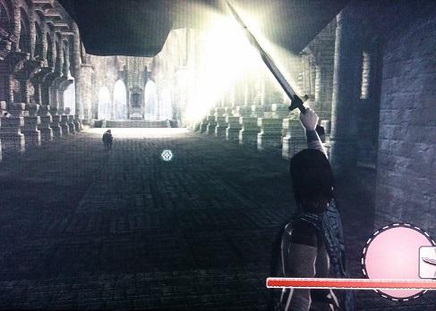 いにしえの剣の光