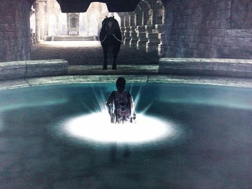ご褒美前の浄化の泉