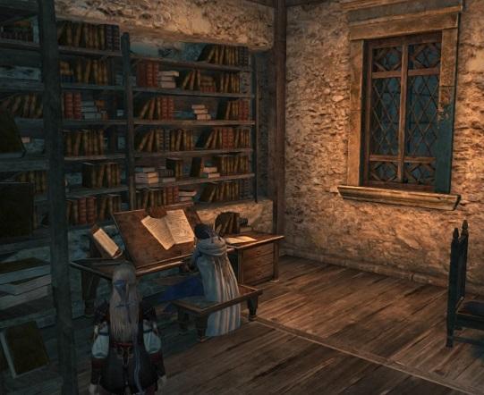 書斎のノエルくん