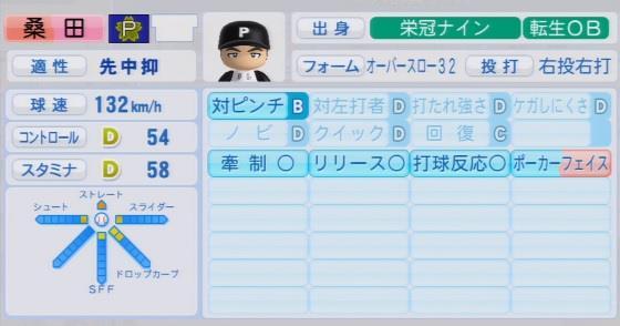 実況パワフルプロ野球2016 栄冠ナイン 桑田真澄入学時