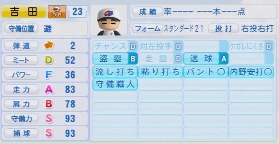 実況パワフルプロ野球2016 OB吉田義男